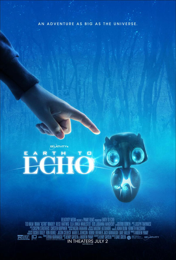 Earth to Echo Poster Earth to Echo Movie Review