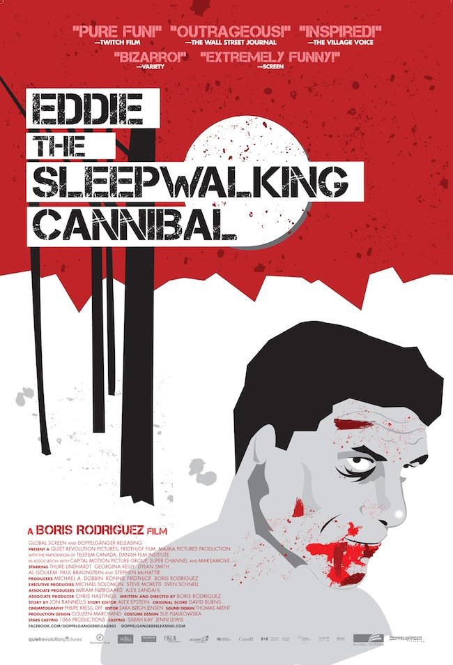 Eddie The Sleepwalking Cannibal to be Released in Theaters and on VOD Eddie: The Sleepwalking Cannibal Invading Theaters and VOD