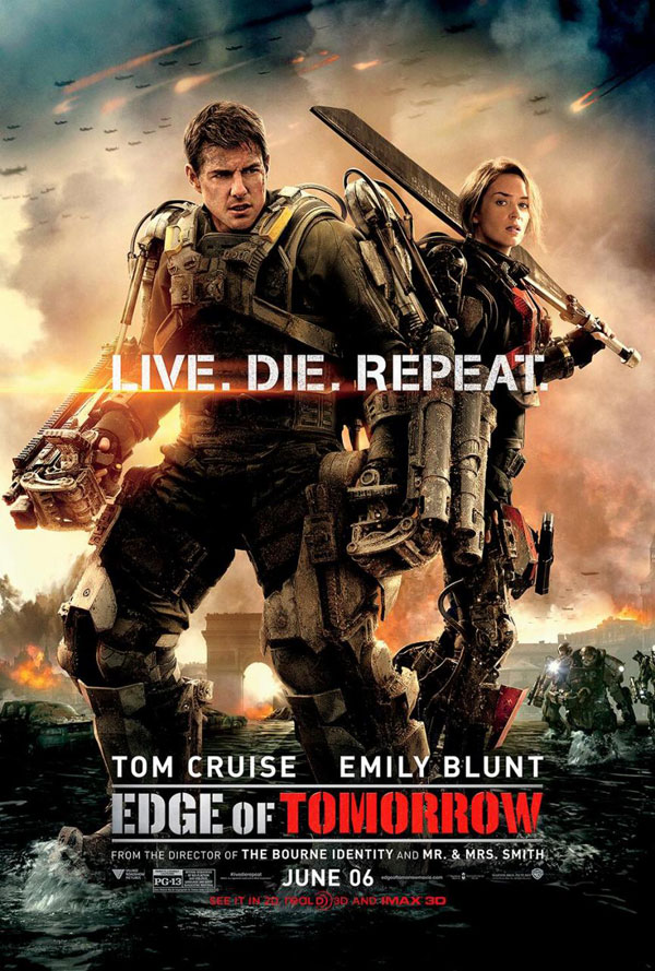Edge of Tomorrow Poster Edge of Tomorrow Movie Review