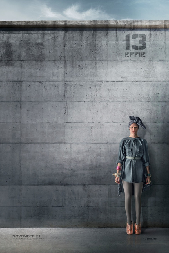 Effie District 13 Citizen Poster The Hunger Games: Mockingjay Part 1 District 13 Rebel Posters Revealed