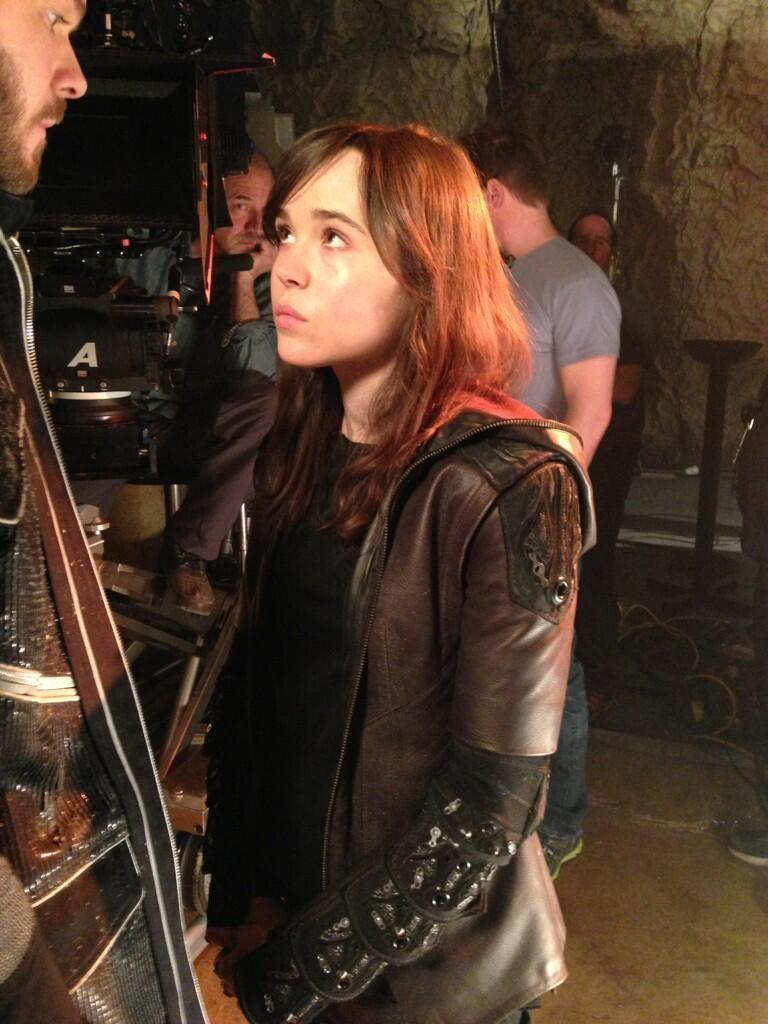 Ellen Page in X Men Days of Future Past First Look at Ellen Page in X Men: Days of Future Past