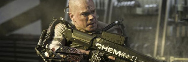 Elysium1 CinemaCon 2013: Sony Pictures Shows Off White House Down, Elysium, This Is The End And More