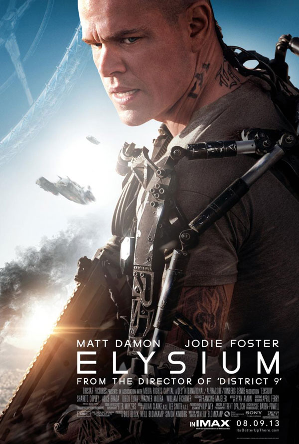 Elysium Poster Elysium Movie Review
