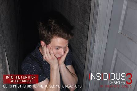 Encounter the Horror of Insidious Chapter 3 with  the Into The Further 4D Experience Fan 2