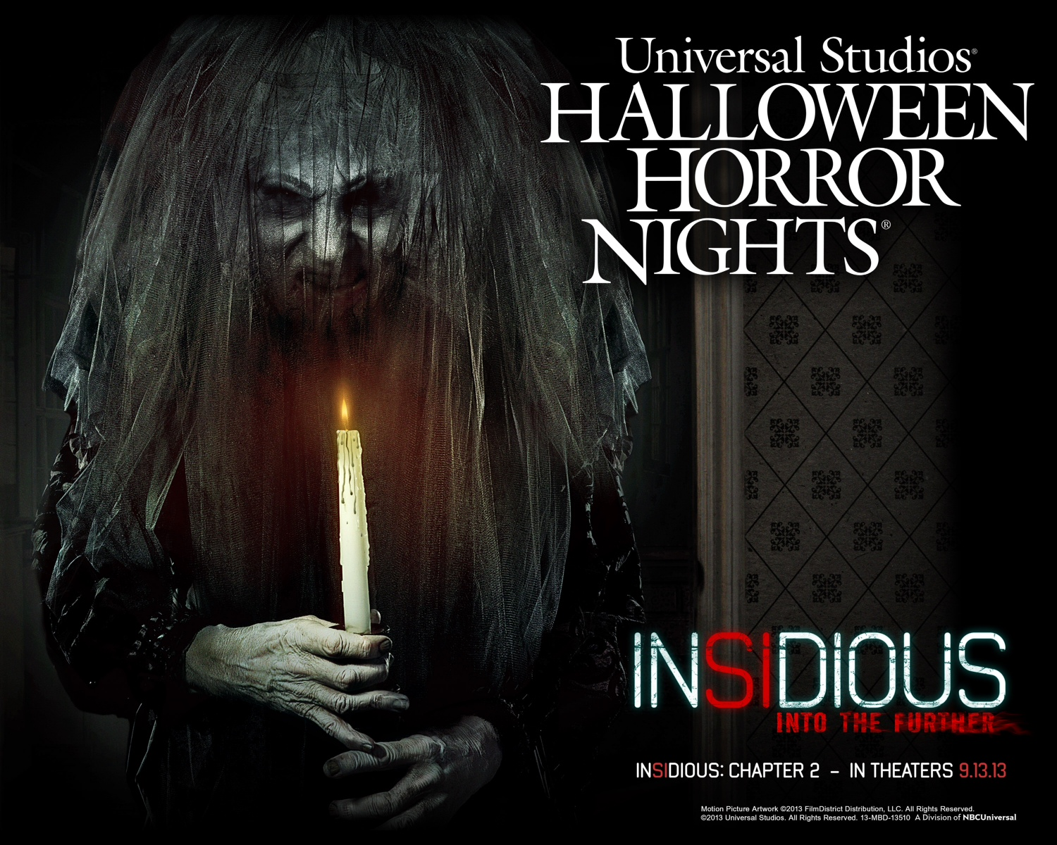 Enter Insidious: Chapter 2 with Universal's Halloween Horror Nights