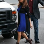 Eva Mendes Steps Out in PinkClouds Dress in New York City 150x150 Eva Amurri Martino Sparkles in Kaelen Clothing and Paige Novick Jewelry