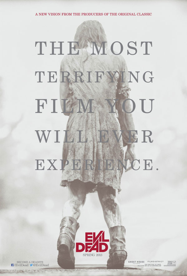 Evil Dead Poster Evil Dead Movie Review