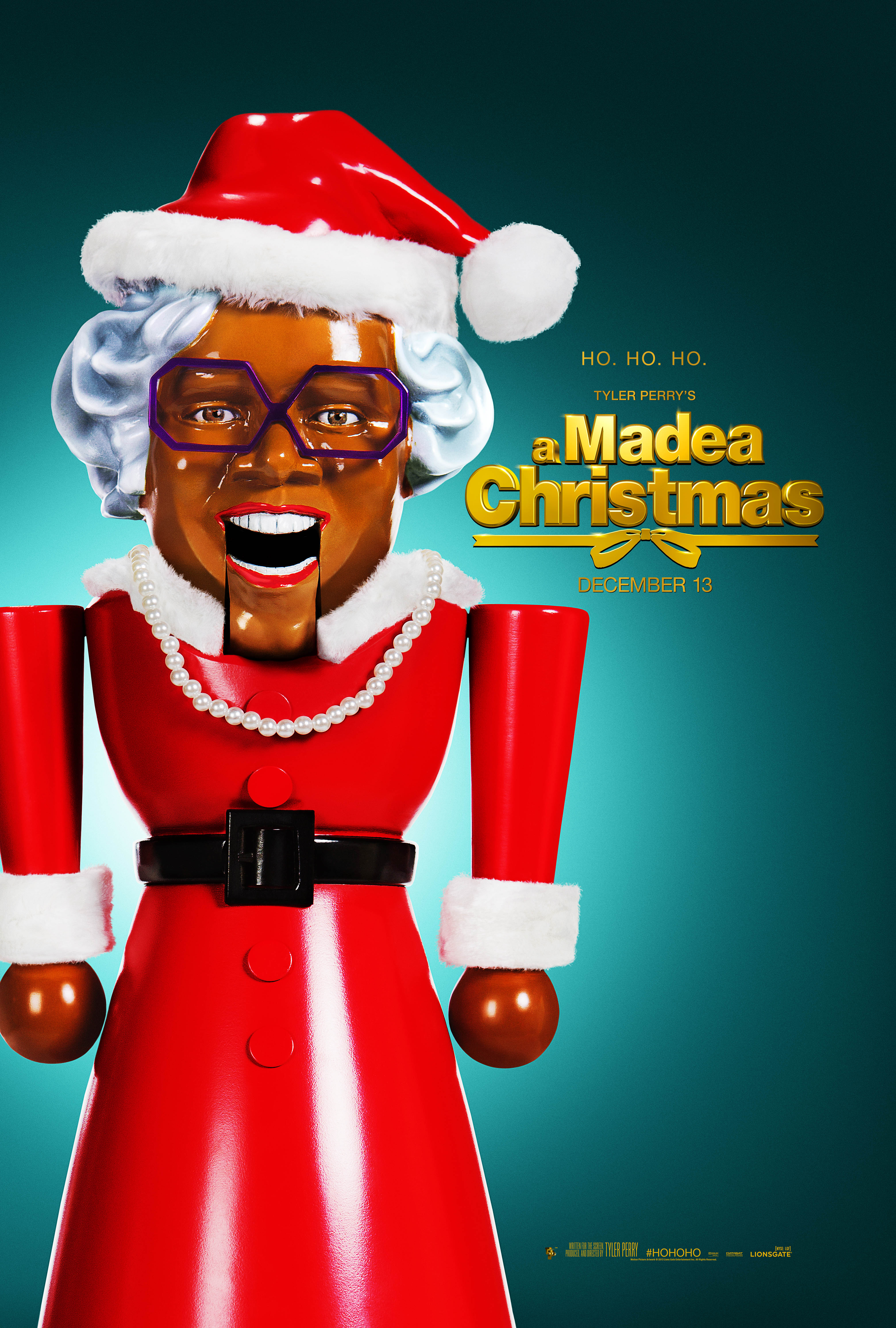 FIN04 TPAMC 1Sht Trim Tyler Perry Celebrates A Madea Christmas with New Teaser Trailer
