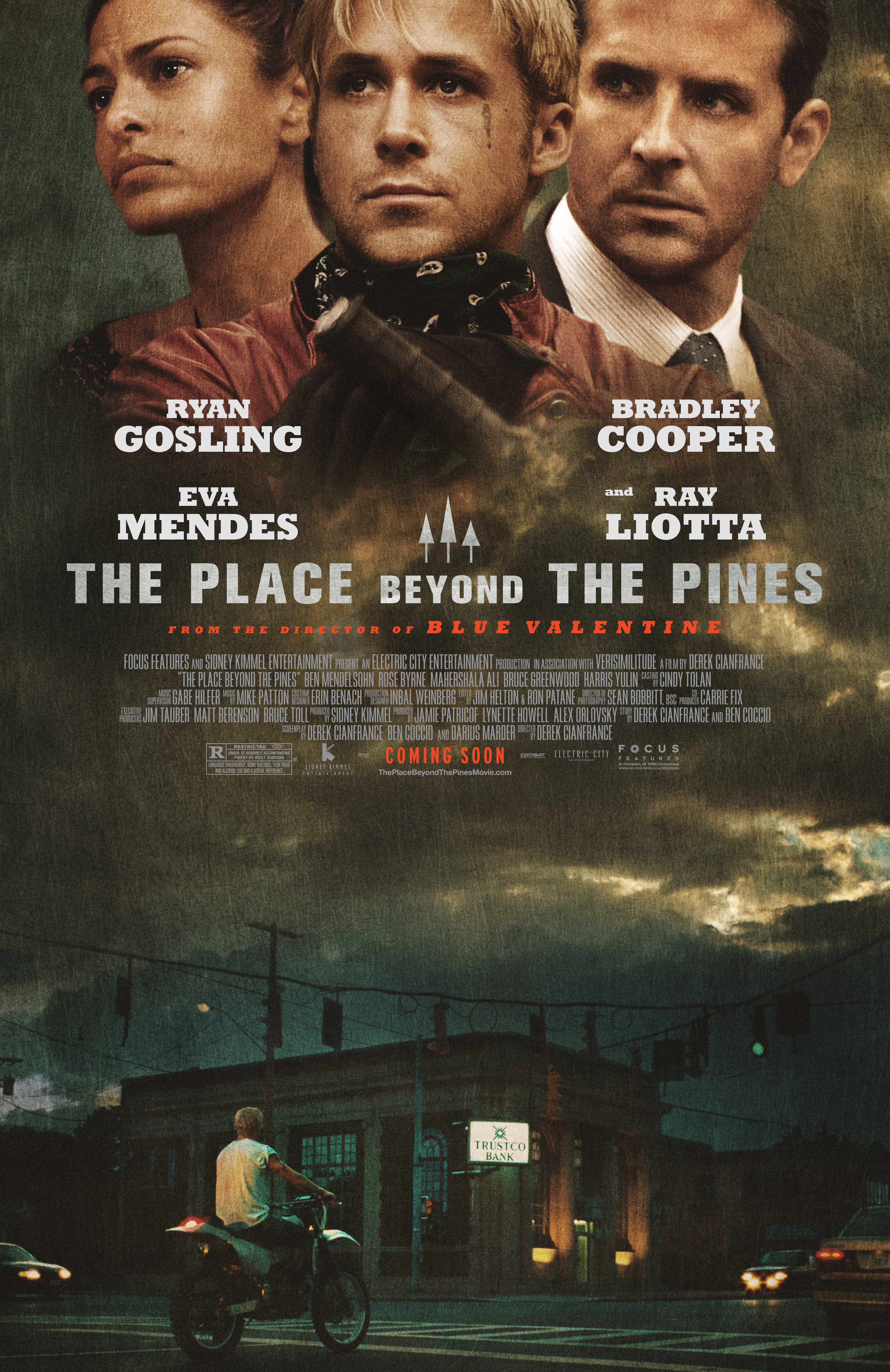 FIN06 Pines 1Sht P4 VF New Poster For The Place Beyond The Pines Released