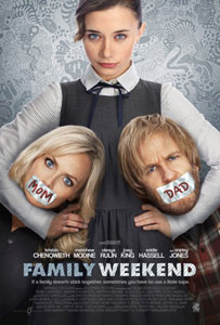 Family Weekend Poster Interview: Family Weekend Press Conference With Kristin Chenoweth And Olesya Rulin