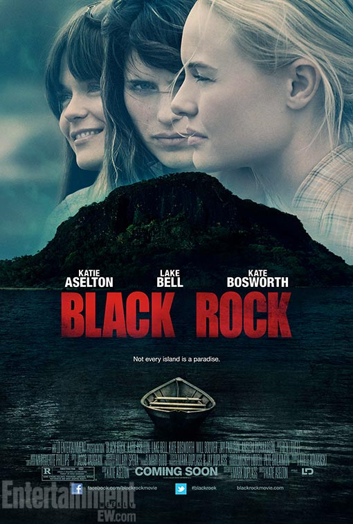 Fight for Survival in New Trailer and Poster for Kate Bosworth Film Black Rock