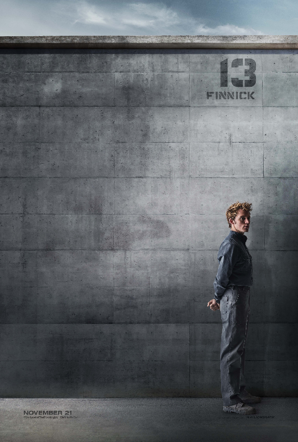 Finnick District 13 Citizen Poster The Hunger Games: Mockingjay Part 1 District 13 Rebel Posters Revealed