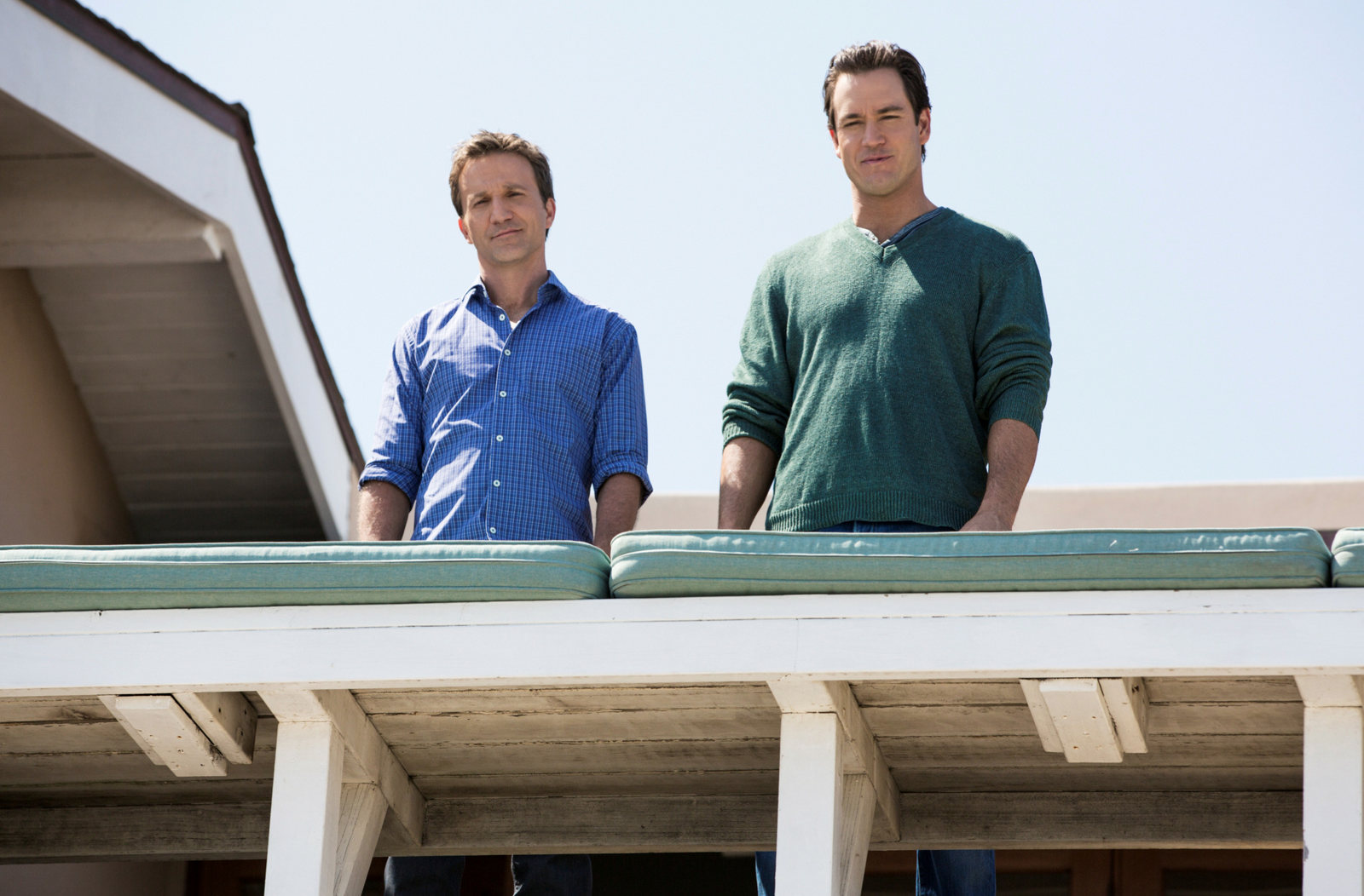 Franklin and Bash Season 3 Mark Paul Gosselaar and Breckin Meyer