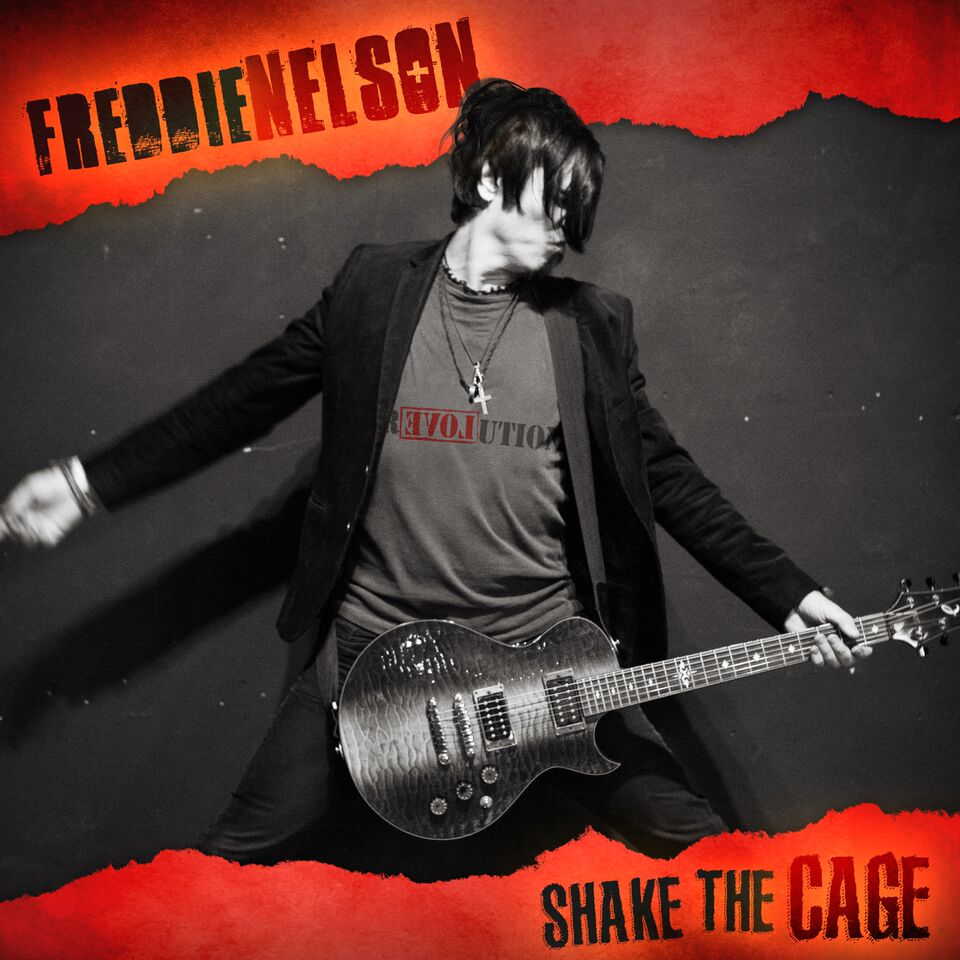 Freddie Nelson Shake the Cage Artwork