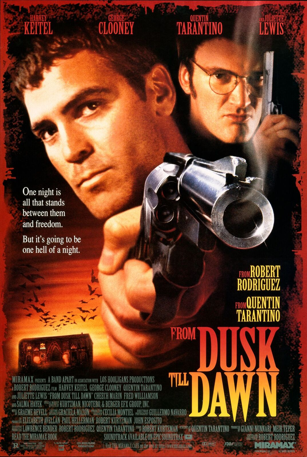 From Dusk Till Dawn Celebrates 20th Anniversary with Theatrical Tickets Giveaway