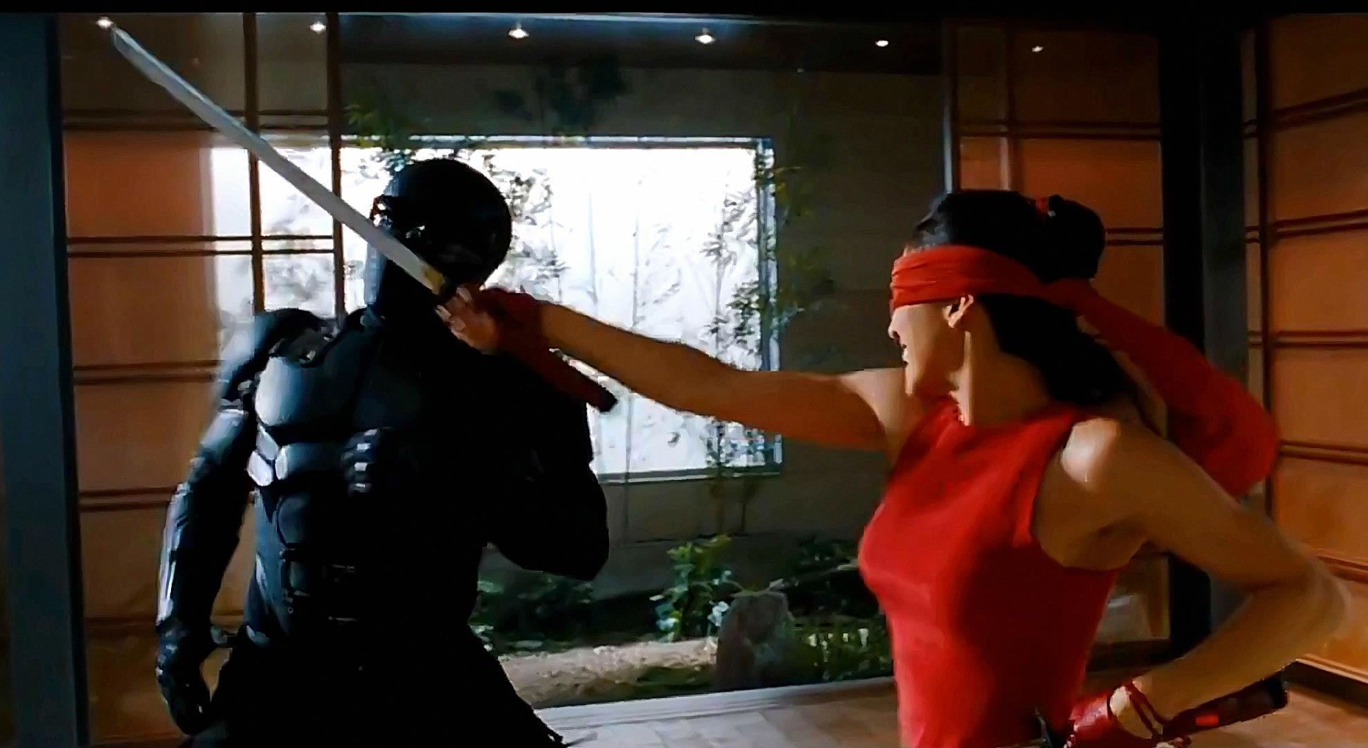GI Joe Retaliation Babe Sword Fight