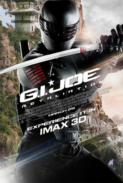 GI Joe Retaliation Snake Eyes Poster Another Wicked New G.I. Joe: Retaliation Poster