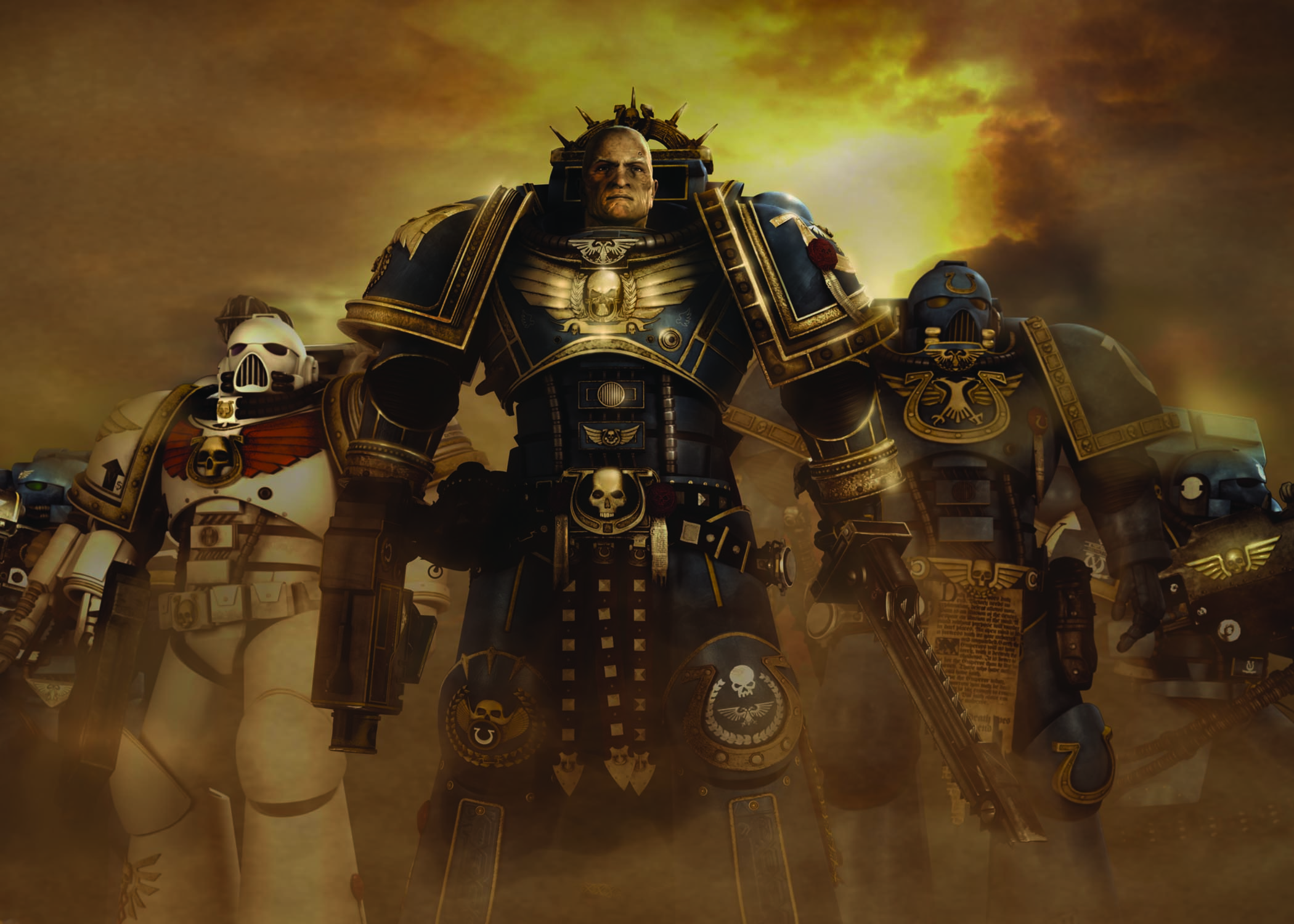 GROUP SHOT1 5 BY 800DPI Ultramarines: A Warhammer 40,000 Movie On Blu ray, DVD And Digital Download March 5