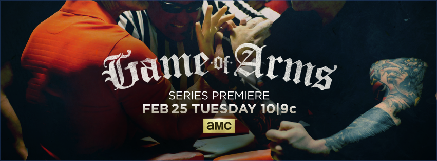 Game of Arms AMC Exclusive: Learn About Arm Wrestler Cobra in AMCs Game of Arms Featurette