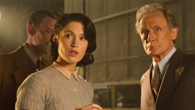 Their Finest actress Gemma Arterton and actor Bill Nighy