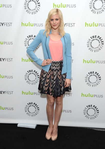 Georgia King Looks Chic in BCBGMAXAZRIA at Palyefest 2013 Georgia King Looks Chic in BCBGMAXAZRIA at Paleyfest 2013