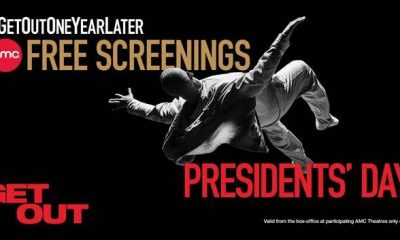 Get Out Free Screenings Presidents Day