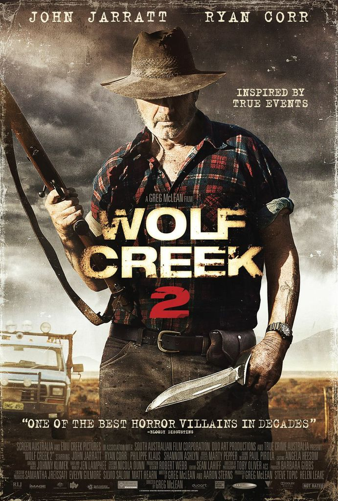 Get Pulled Into Wolf Creek 2 with Newly Released Photos and Poster Get Pulled Into Wolf Creek 2 with Newly Released Photos and Poster