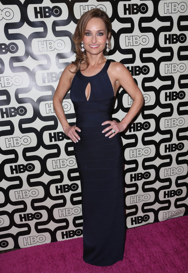 Giada de Laurentiis in Herve Leger by Max Azria at 2013 Golden Globe After Parties1 Food Networks Giada de Laurentiis Looks Flawless in Herve Leger by Max Azria at 2013 Golden Globe After Parties