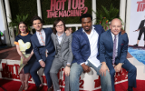 Gillian Jacobs, Adam Scott, Clark Duke, Craig Robinson and Rob Corddry at the Hot Tub Time Machine 2 LA Premiere