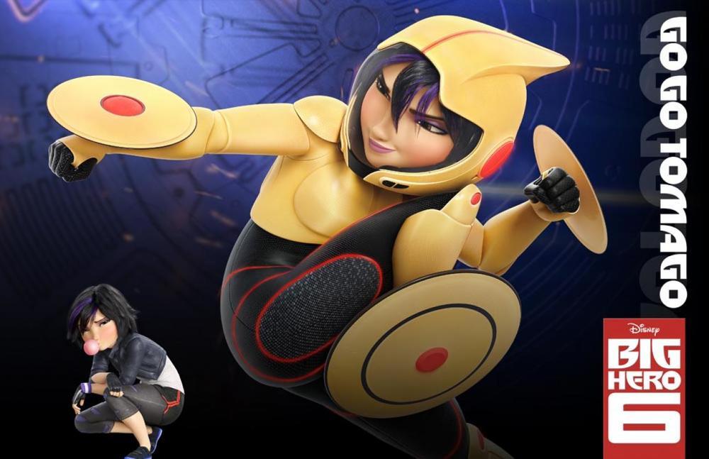 Go Go Tomago Big Hero 6 Character Pose Walt Disney Animation Studios Unleashes Big Hero 6 Lineup and Official Character Descriptions