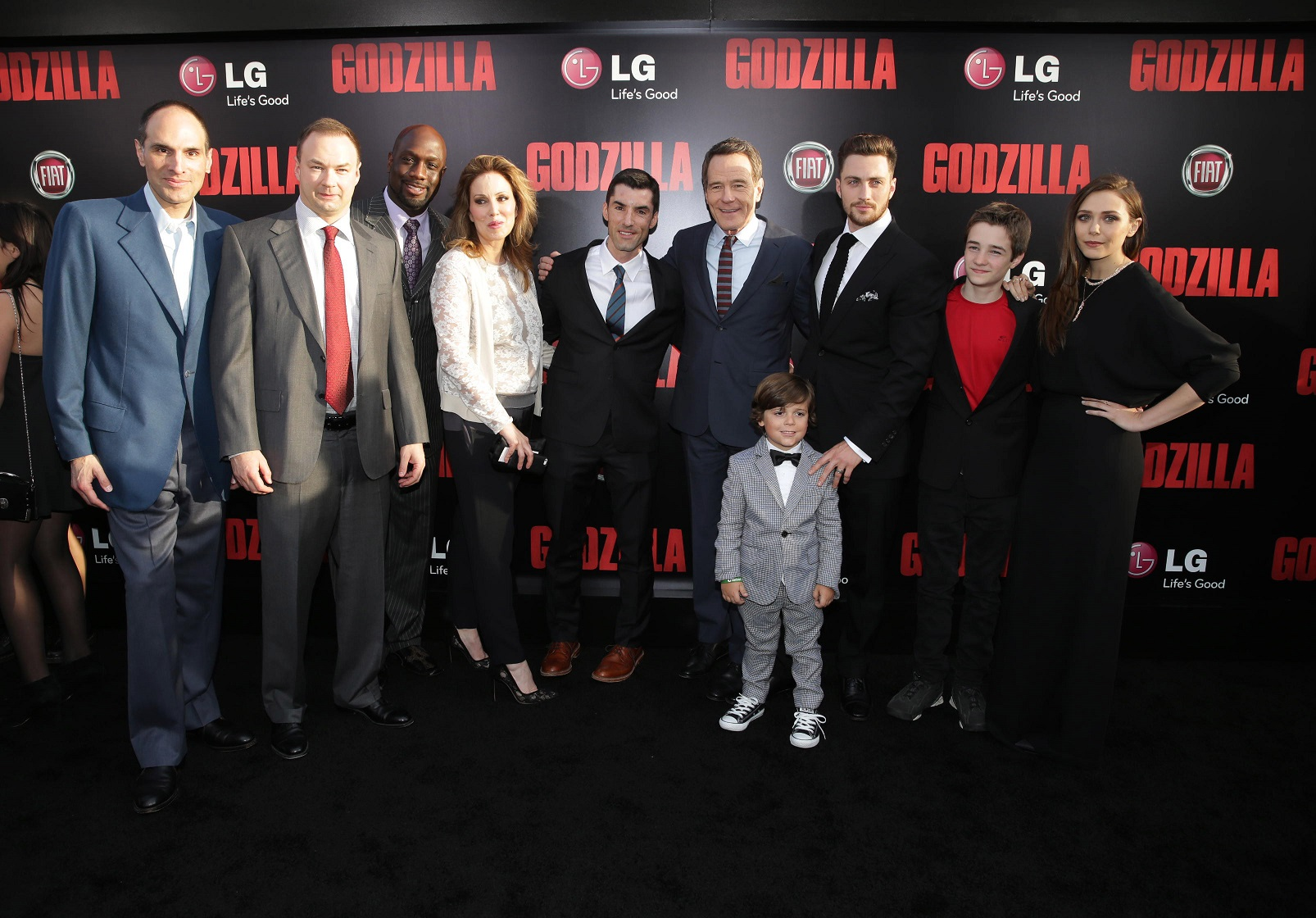 Godzilla Premiere Cast Check Out Images from the Godzilla Black Carpet Event