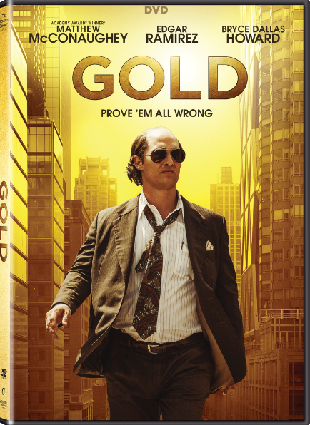 Matthew McConaughey Gold DVD