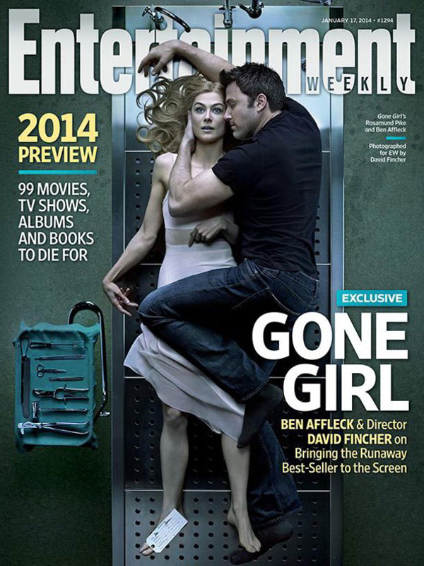 Gone Girl EW Cover