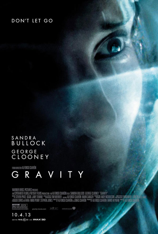 Gravity Poster Gravity Movie Review