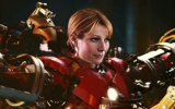Gwyneth Paltrow in Iron Man 3 Suit