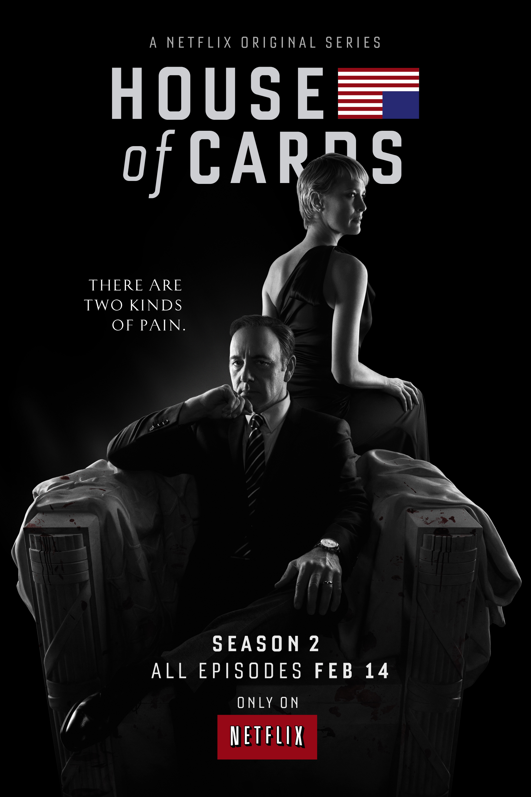 HOCs2 Poster Enter House of Cards with New Season 2 Trailer and Key Art