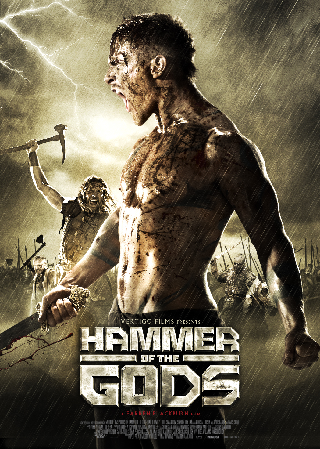 HOTG 1SHEET final Red Band Trailer of Hammer of the Gods Premieres on IGN