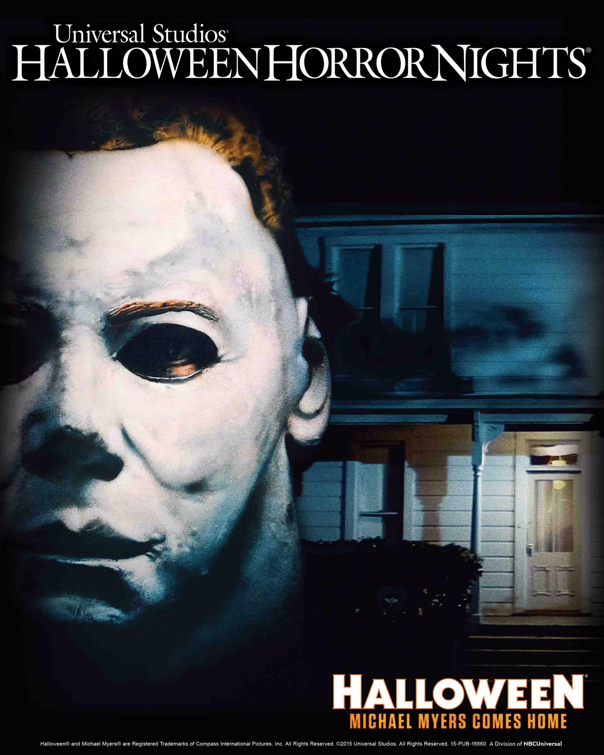 Michael Myers Comes Home Slashes Through Universal Studios ...