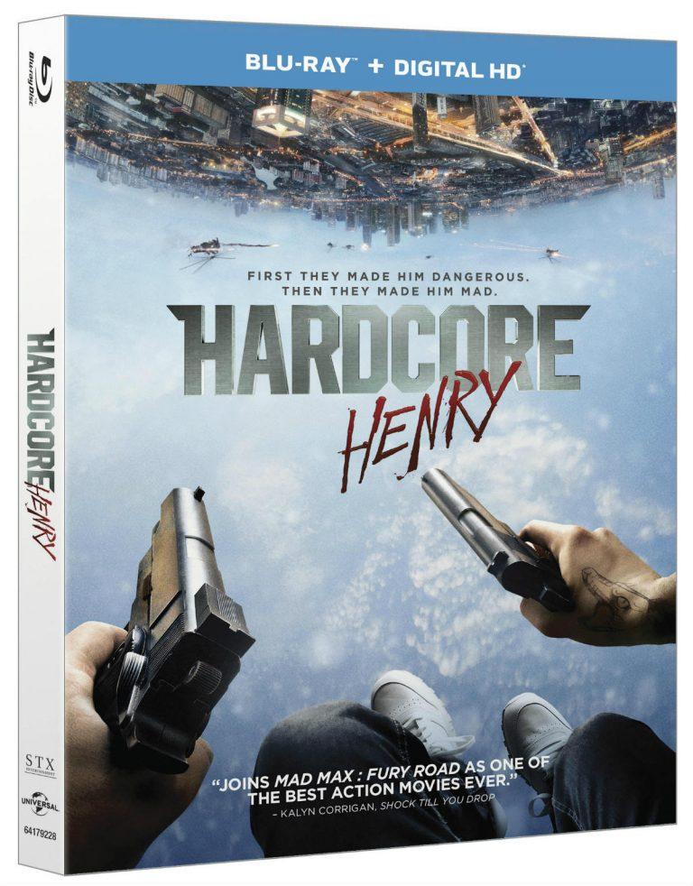 Hardcore Henry Blu-ray
