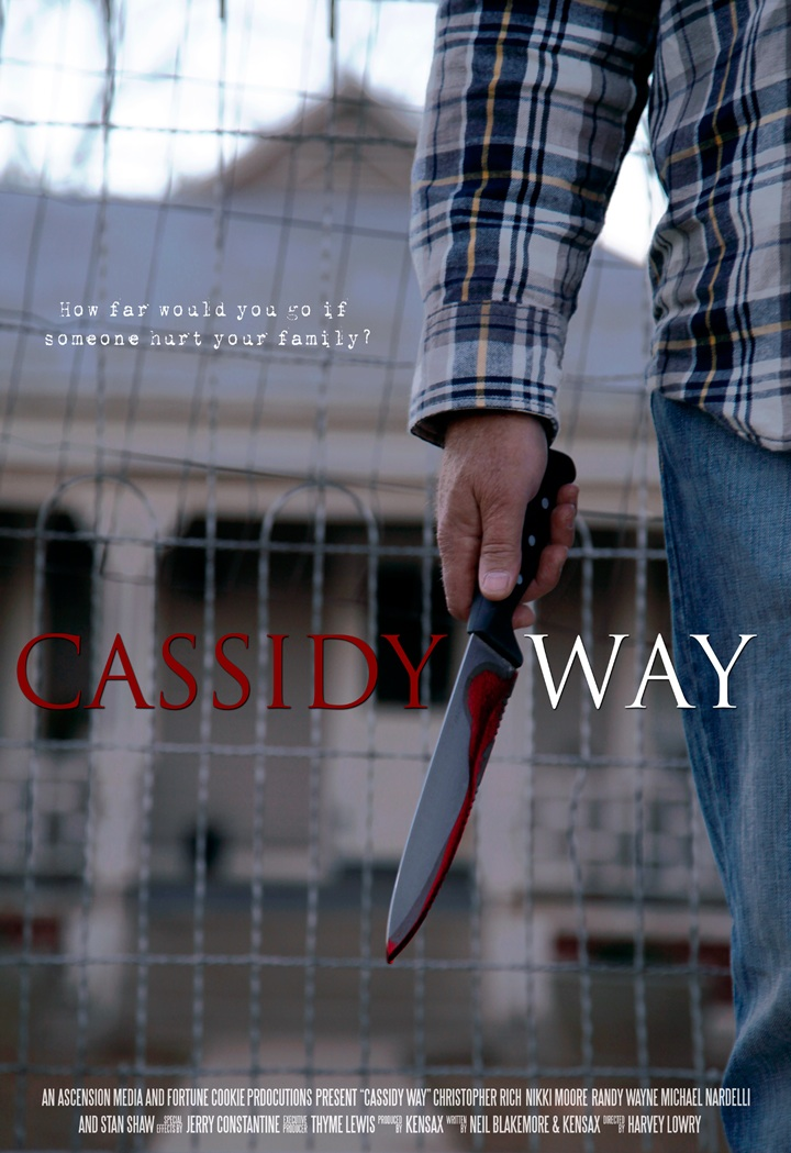 Harvey Lowry Makes Directorial Debut with Thriller Cassidy Way
