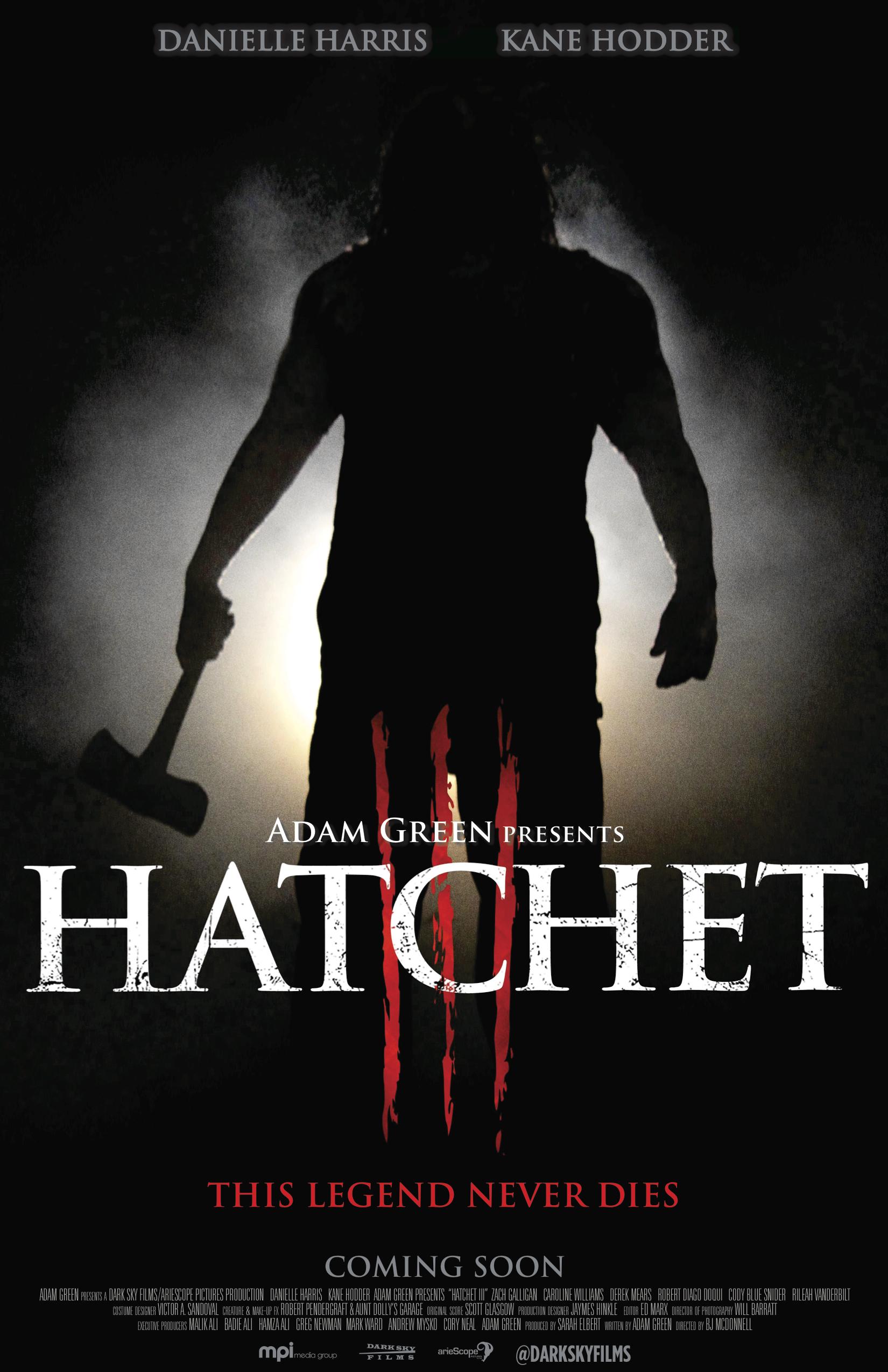 Hatchet 3 Teaser Poster