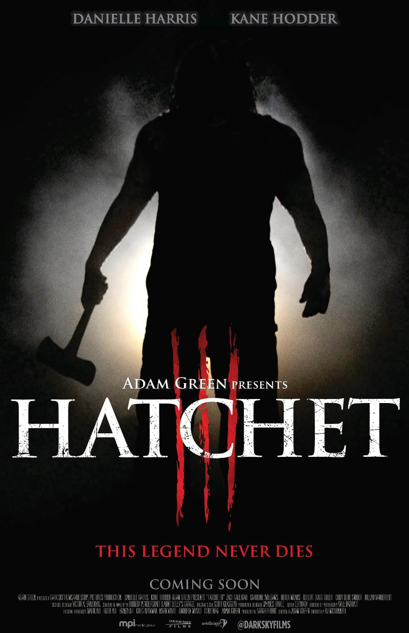 Hatchet III Drawing Up Scares In New Official Trailer