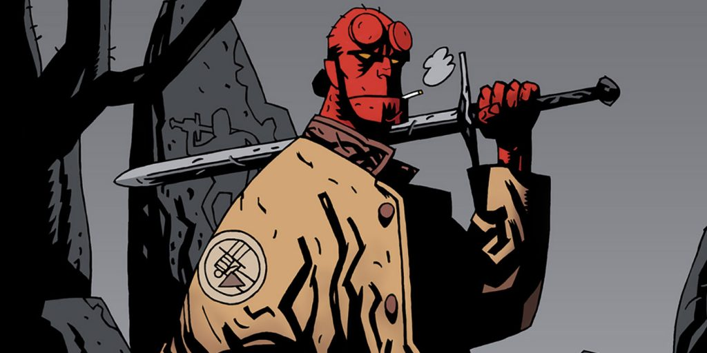 Promo Artwork Hellboy Rise of the Blood Queen