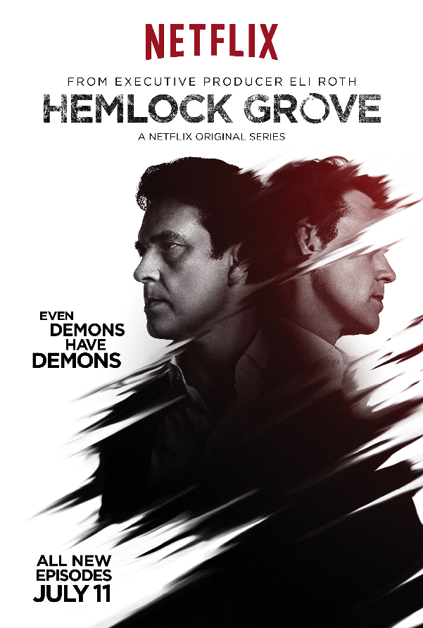 Hemlock Grove Norman Character Poster Season Two