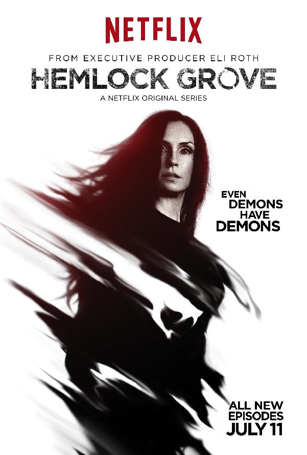 Hemlock Grove Roman Character Poster Season Two