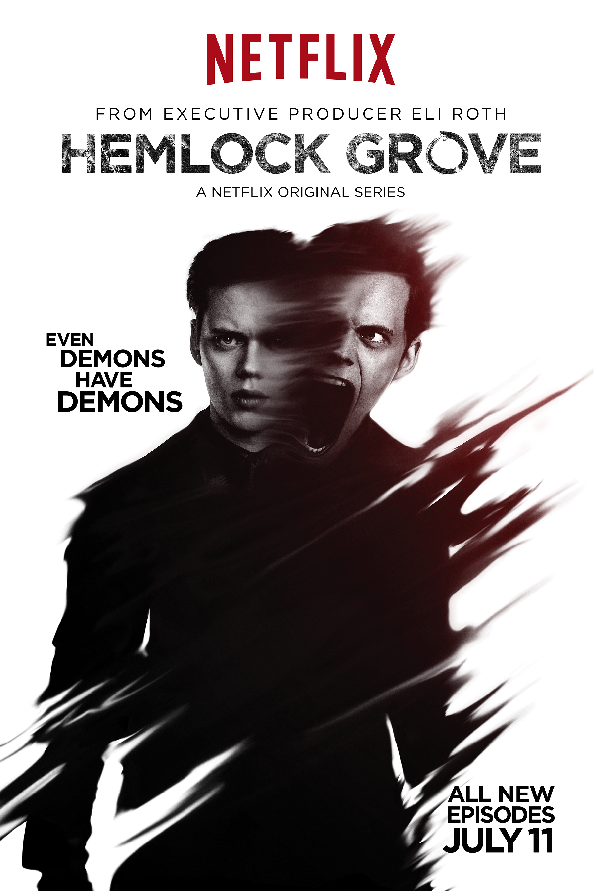 Hemlock Grove Roman Character Poster Season Two Netflix Releases All New Hemlock Grove Season 2 Character Posters