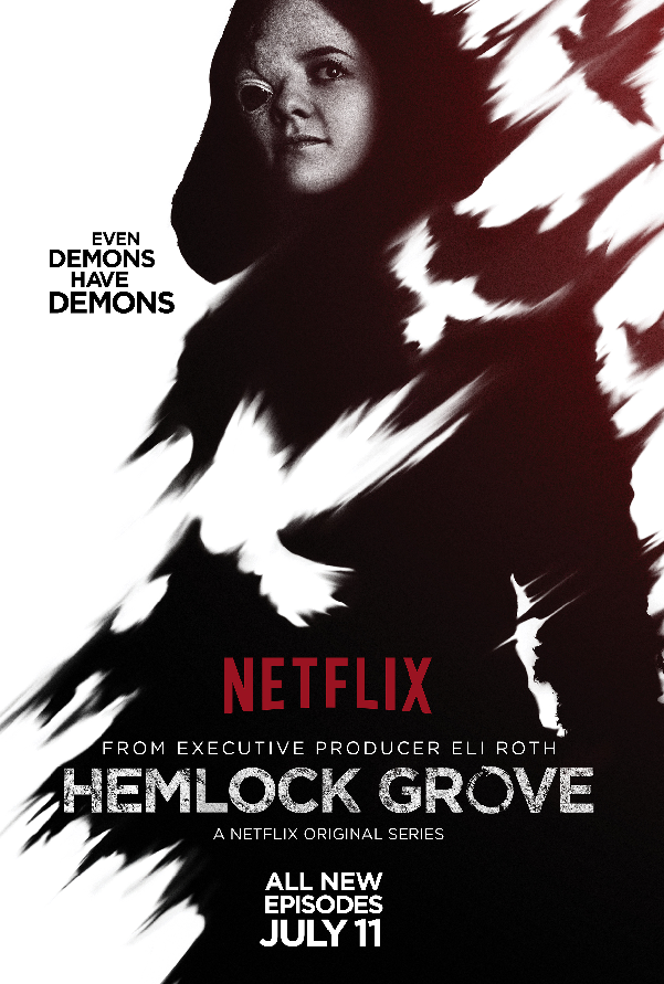 Hemlock Grove Shelley Character Poster Season Two Netflix Releases All New Hemlock Grove Season 2 Character Posters