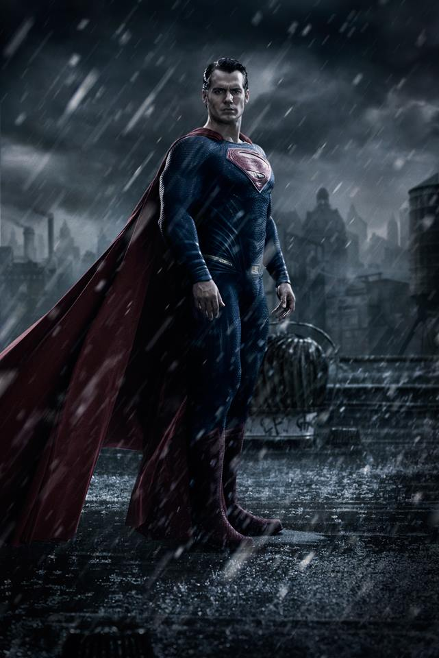 Henry Cavill Batman v Superman First Look at Superman from Batman v. Superman: Dawn of Justice