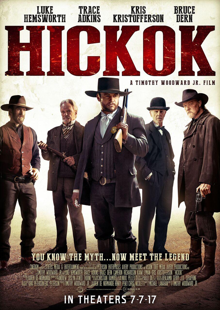 Hickok Trailer - Starring Luke Hemsworth, Trace Adkins, Kris Kristofferson and Bruce Dern