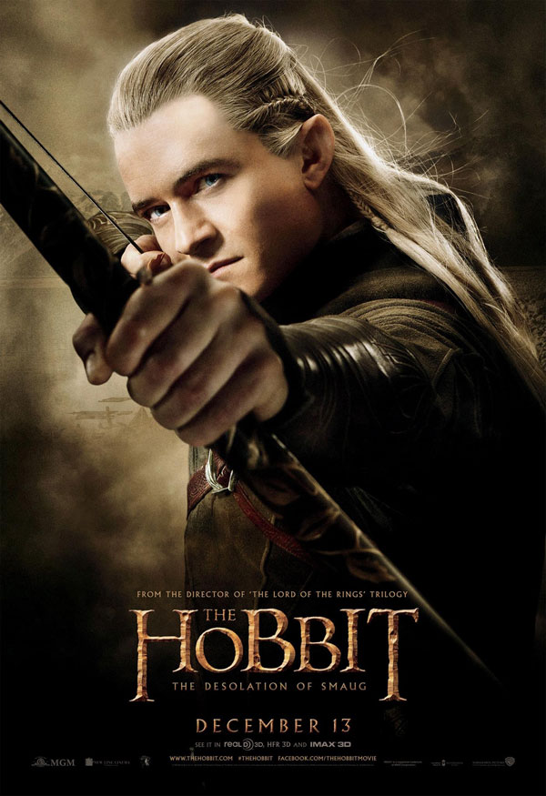 Hobbit Desolation of Smaug New Poster 4 Behind The Scenes Clip from The Hobbit: The Desolation of Smaug Will Make You Lose Your Head